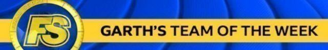 Garth Crooks' team of the week graphic.