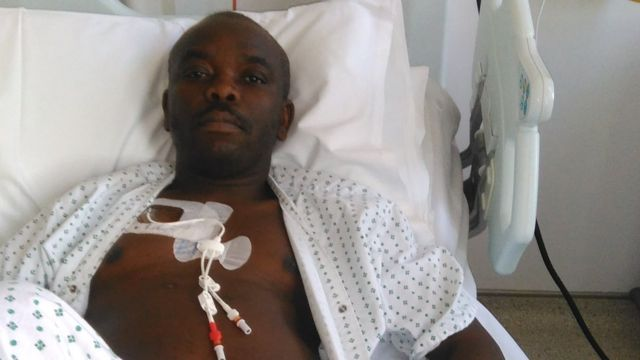 Dying man fights to get Nigerian brother's visa for transplant