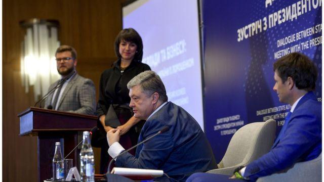 зустріч Петра Порошенка з бізнесом