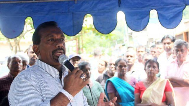 விவசாயத்துறை அமைச்சர் மஹிந்தானந்த அளுத்கமகே