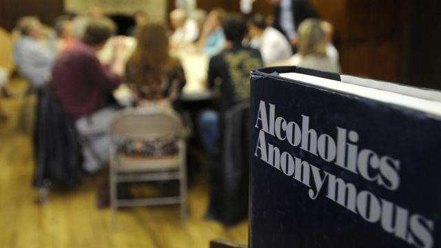 Reunión de Alcohólicos anónimos