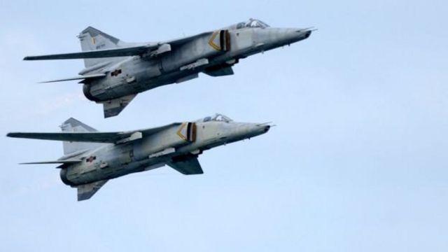 MiG-27 ප්රහාරක ගුවන් යානා