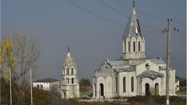 церковь в Шуше
