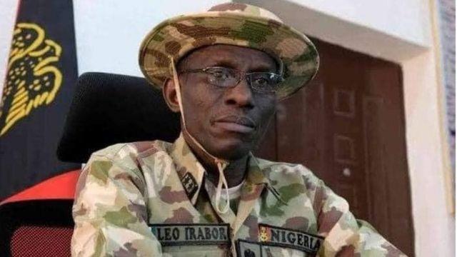 Buhari Service Chiefs: Major General Leo Irabor
