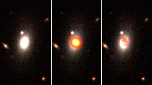 Фото галактики в разных диапазонах