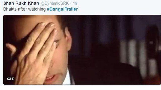 Twitter reacton on Dangal