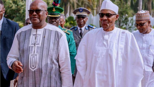 BH.E. Roch Marc Christian Kabore ati Buhari
