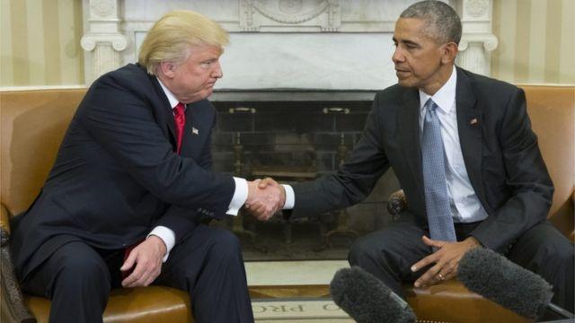 ट्रंप और ओबामा