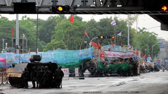 ปฏิบัติการกระชับพื้นที่การชุมนุมของกลุ่มคนเสื้อแดงเกิดขึ้นในวันที่ 19 พ.ค. 2553