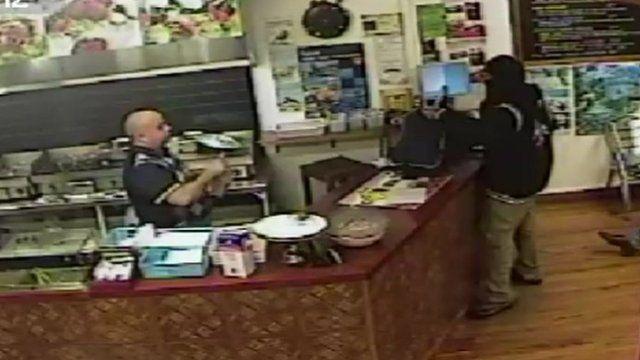Still of CCTV footage