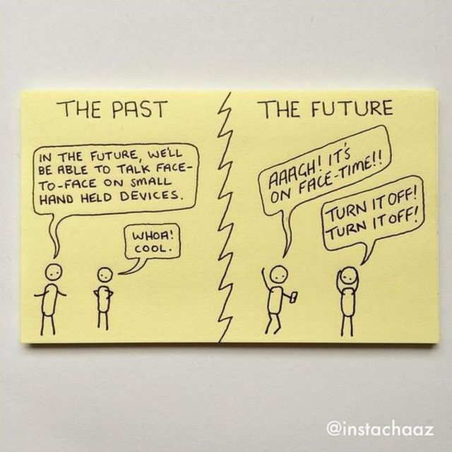 From Post-it notes to published cartoonist