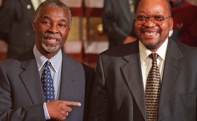 Thabo Mbeki Jacob Zuma - Juni 1999
