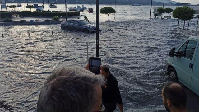 Inundaciones en Samos