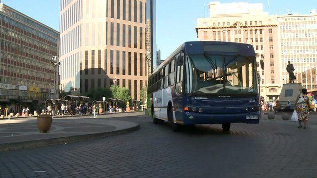 Metrobus in Johannesburg