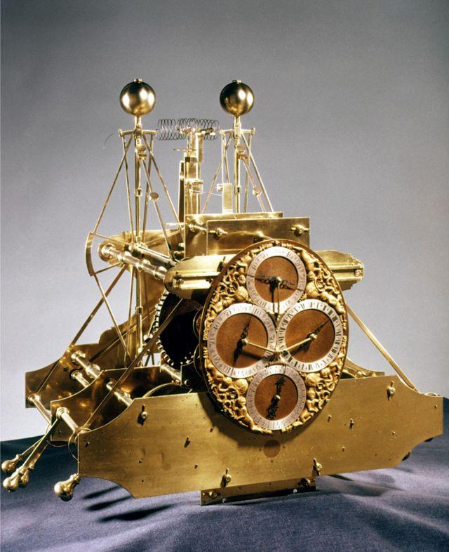 Морской хронометр Джона Гаррисона, 1735 г.