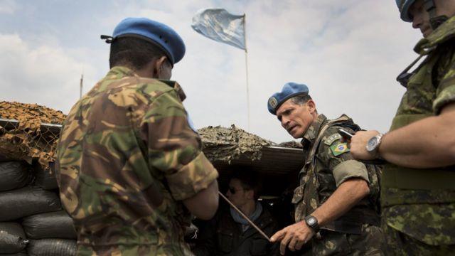 Santos Cruz no Congo