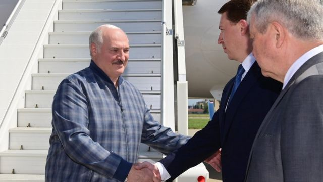 Лукашенко в Сочі