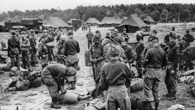 Американские военные в Германии