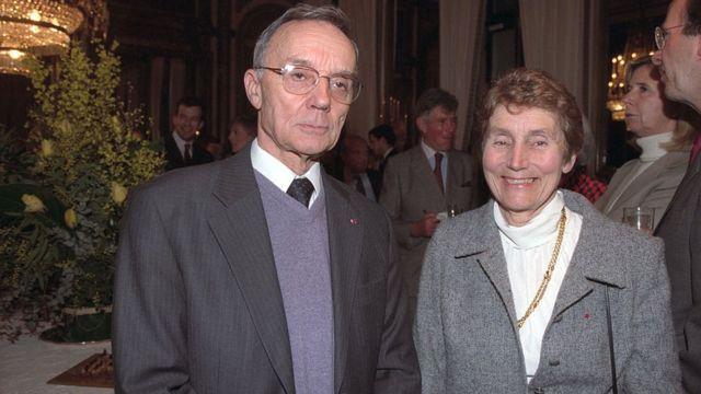 Hélène y Pierre Curie