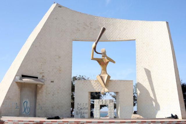 Monument de la Porte du Troisième millénaire (Dakar)
