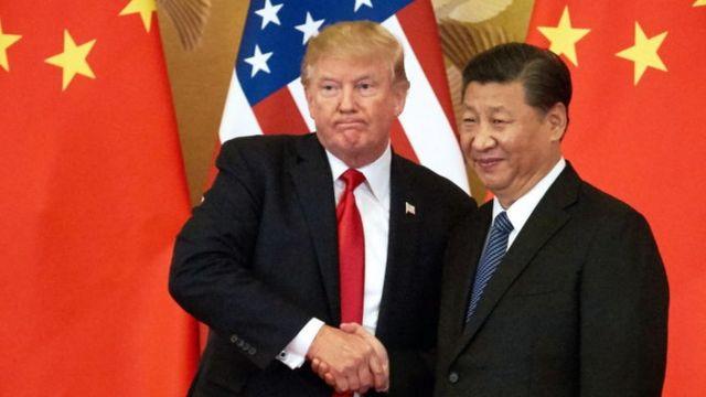 Trump y Xi Jingpin