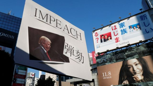 反特朗普美僑在東京涉穀示威(5/11/2017)