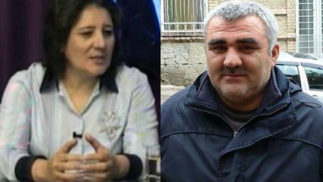 AXCP sədrinin müavini Gözəl Bayramlı və jurnalist Əfqan Muxtarlı