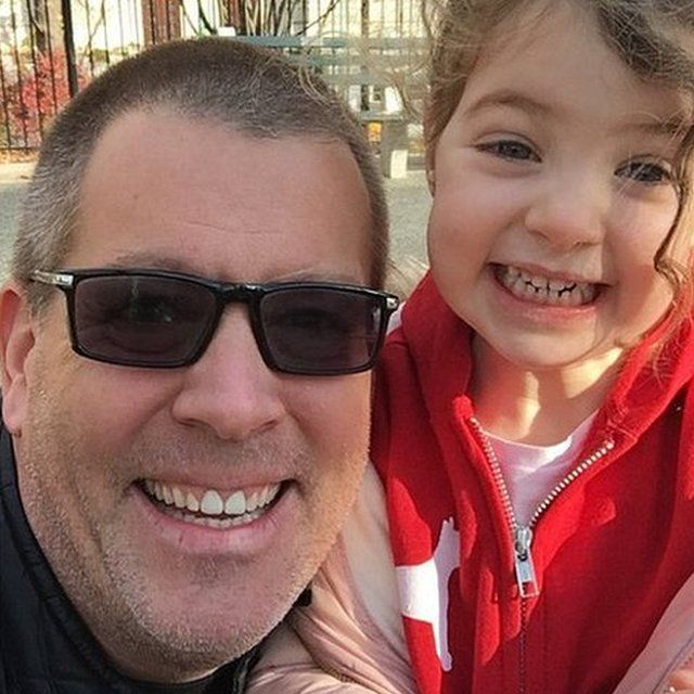 Peter Shankman and his daughter
