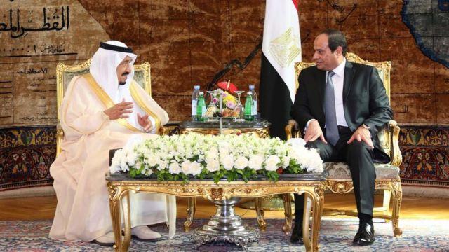 Saudi Arabia and Egypt announce Red Sea bridge