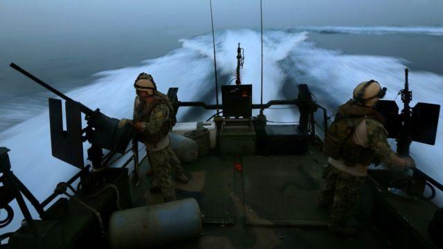 拿捕された米海軍船舶と同種の監視船