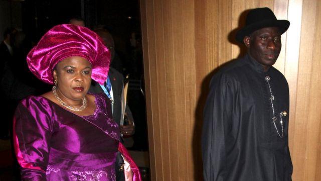 Patience Jonathan n'umugabo wiwe Goodluck Jonathan