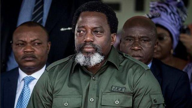 Perezida Joseph Kabila ari ku butegetsi guhera mu mwaka wa 2001 ubwo se Laurent-Désiré Kabila wari Perezida wa Kongo yicwaga