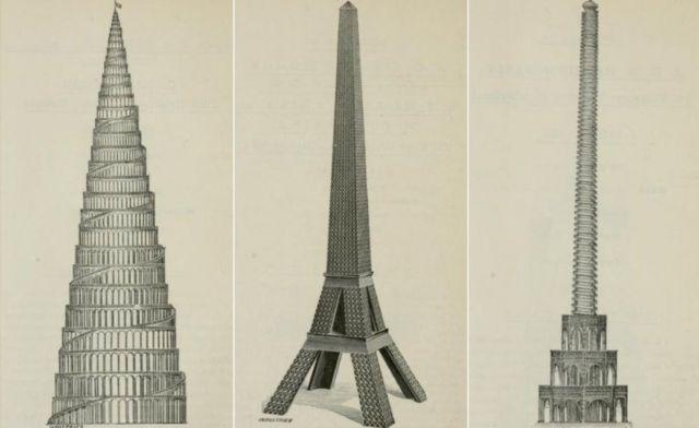 Три дизайна башни