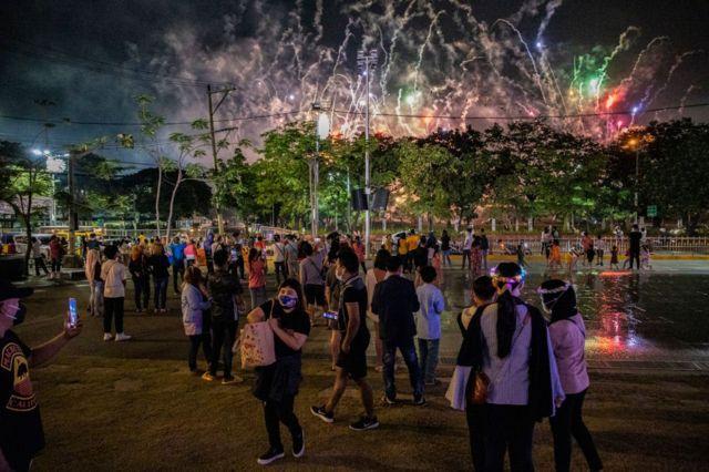 Празднества в Маниле