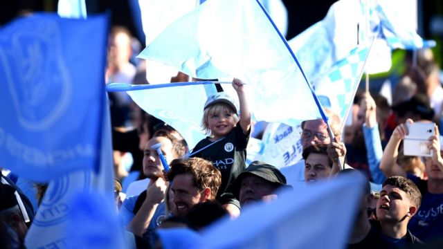 Manchester City open-top bus parade held