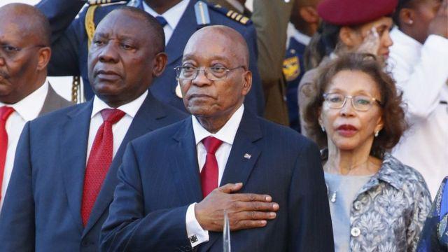 Jacob Zuma anengwa vyinshi birimwo igiturire