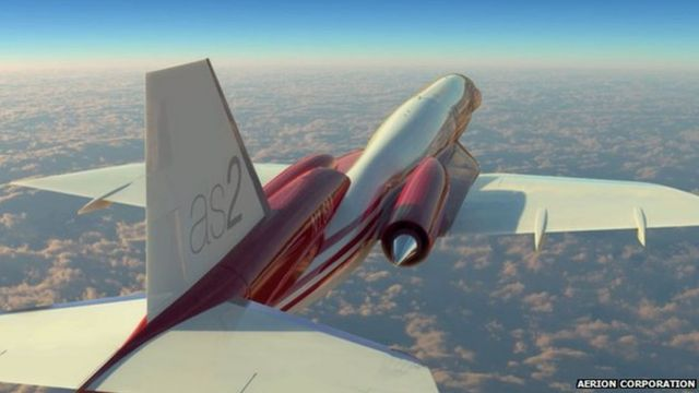 Aerion AS2 jet comercial