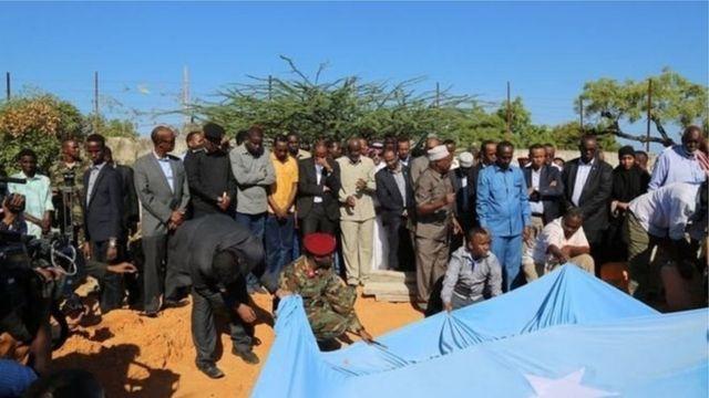 Burial of Abas Abdullahi Sheikh