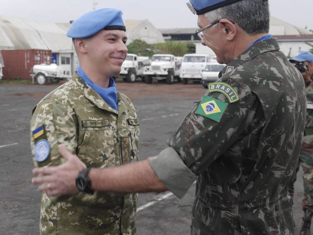 Глава миротворческой миссии в ООН генерал-лейтенант Элиас Родригес Мартинс Филхо