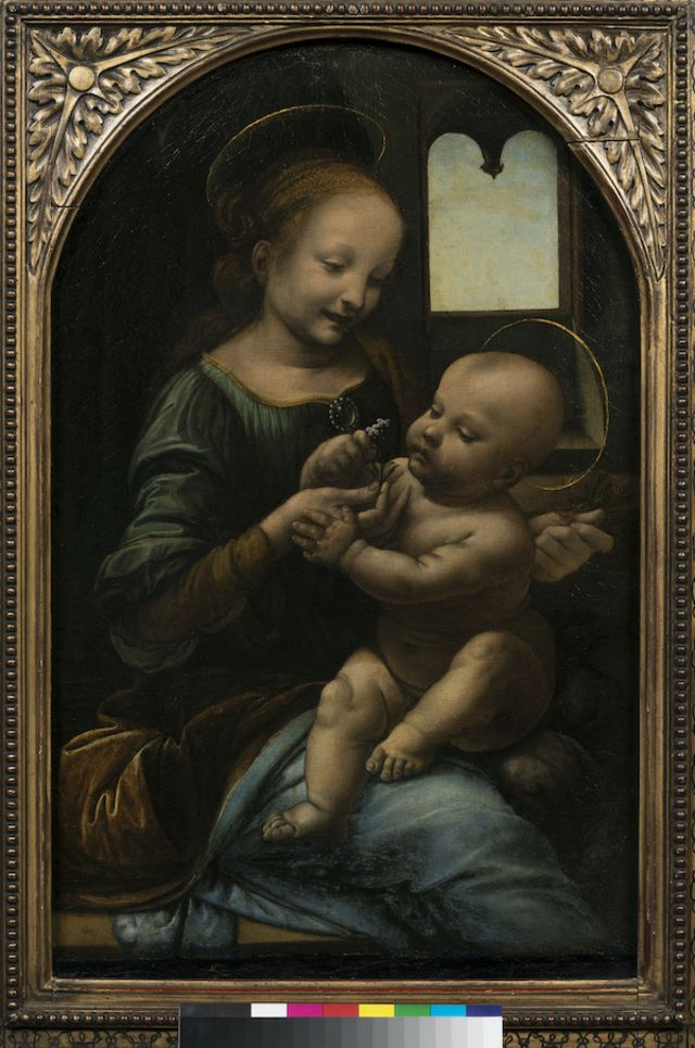 Madona Benois, de Da Vinci