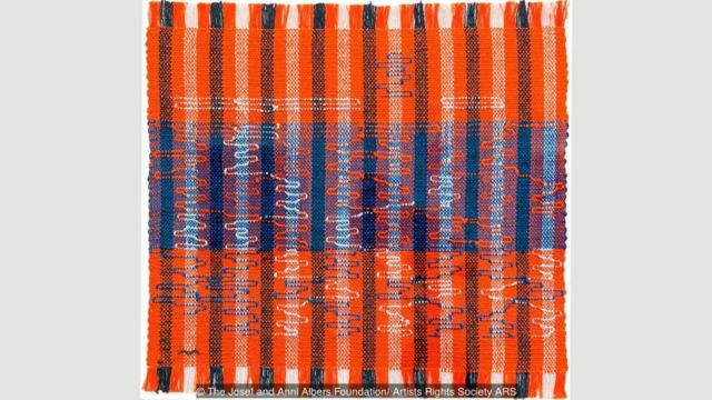 Tenunan yang dibuat Anni Albers sangat inovatif, meski awalnya ini bukan medium yang diinginkannya.