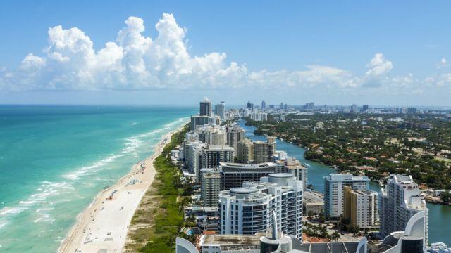 Derrumbe en Miami: cómo se construyó Miami Beach ganándole terreno al mar  en una zona pantanosa (y los riesgos que esto implica para el futuro) - BBC  News Mundo
