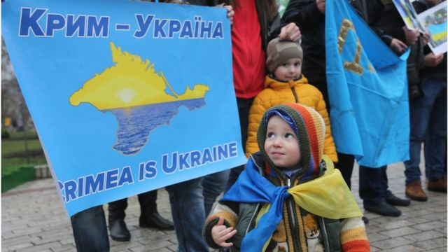 "Акція ""Крим - це Україна"""