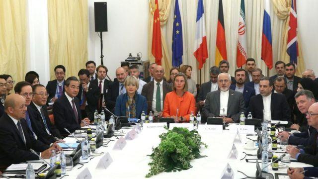 نشست وزیران خارجه ایران و برجام