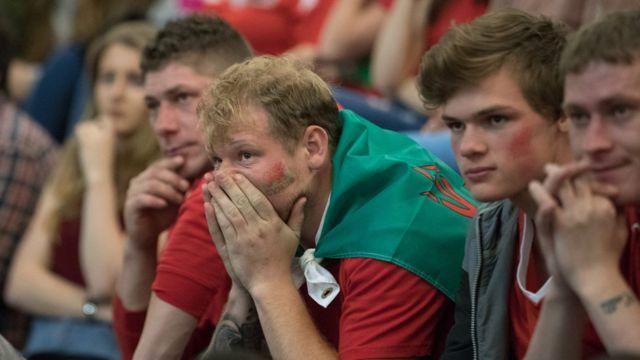 Aficionados de Gales