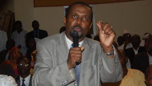 Aboubacar Sylla, porte-parole de l'opposition guinéenne