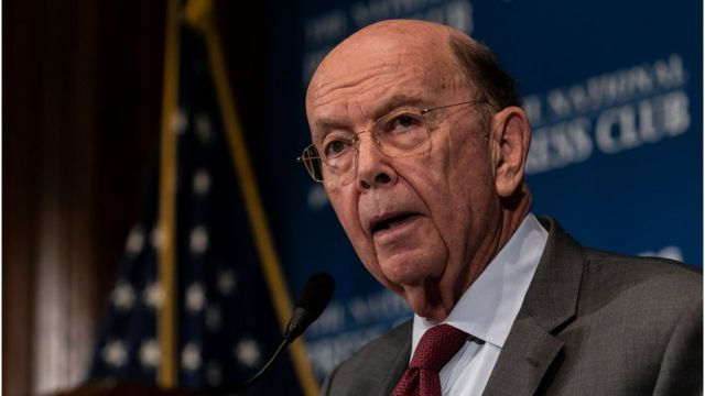Wilbur Ross, the 39th U.S. Secretary of Commerce, speaks at the National Press Club (NPC) Headliners Luncheon in Washington, D.C., on Monday, May 14, 2018