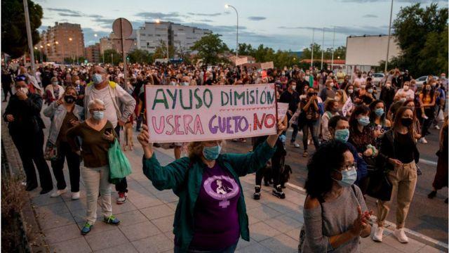 Madrid protesto
