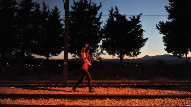 Europe migrants: Tracing perilous Balkan route to Germany