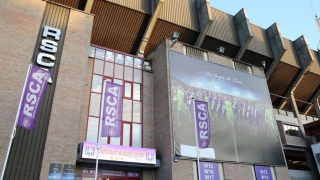 Anderlecht's Constant Vanden Stock Stadium